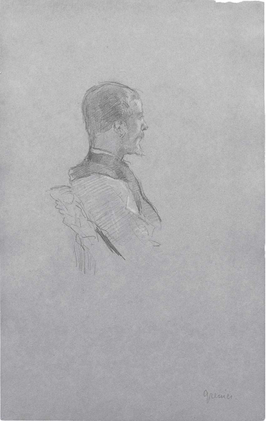 Portrait d'Albert Grenier, 1887