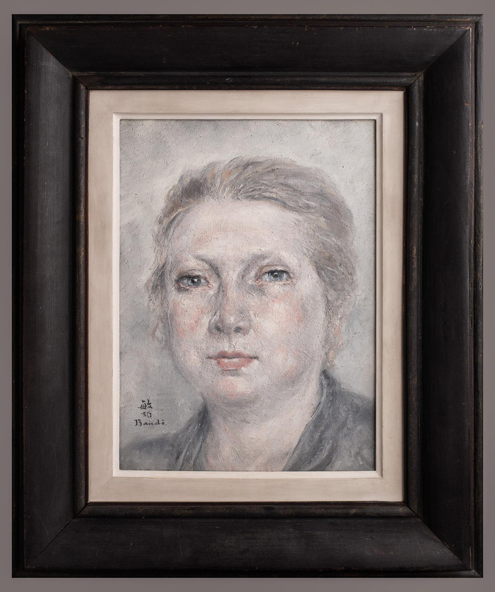 Portrait de femme vers 1928-1930