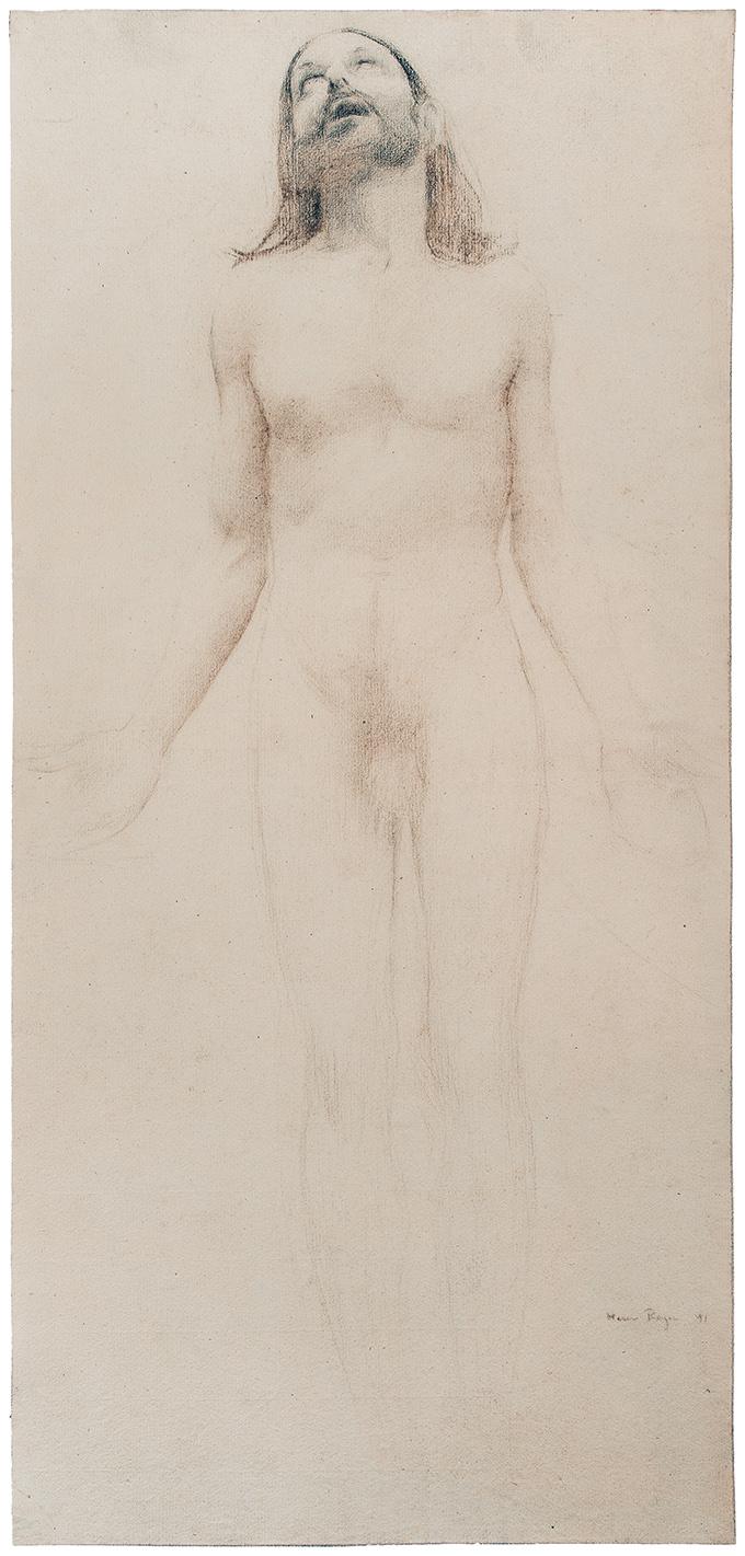 Etude de Christ, 1891