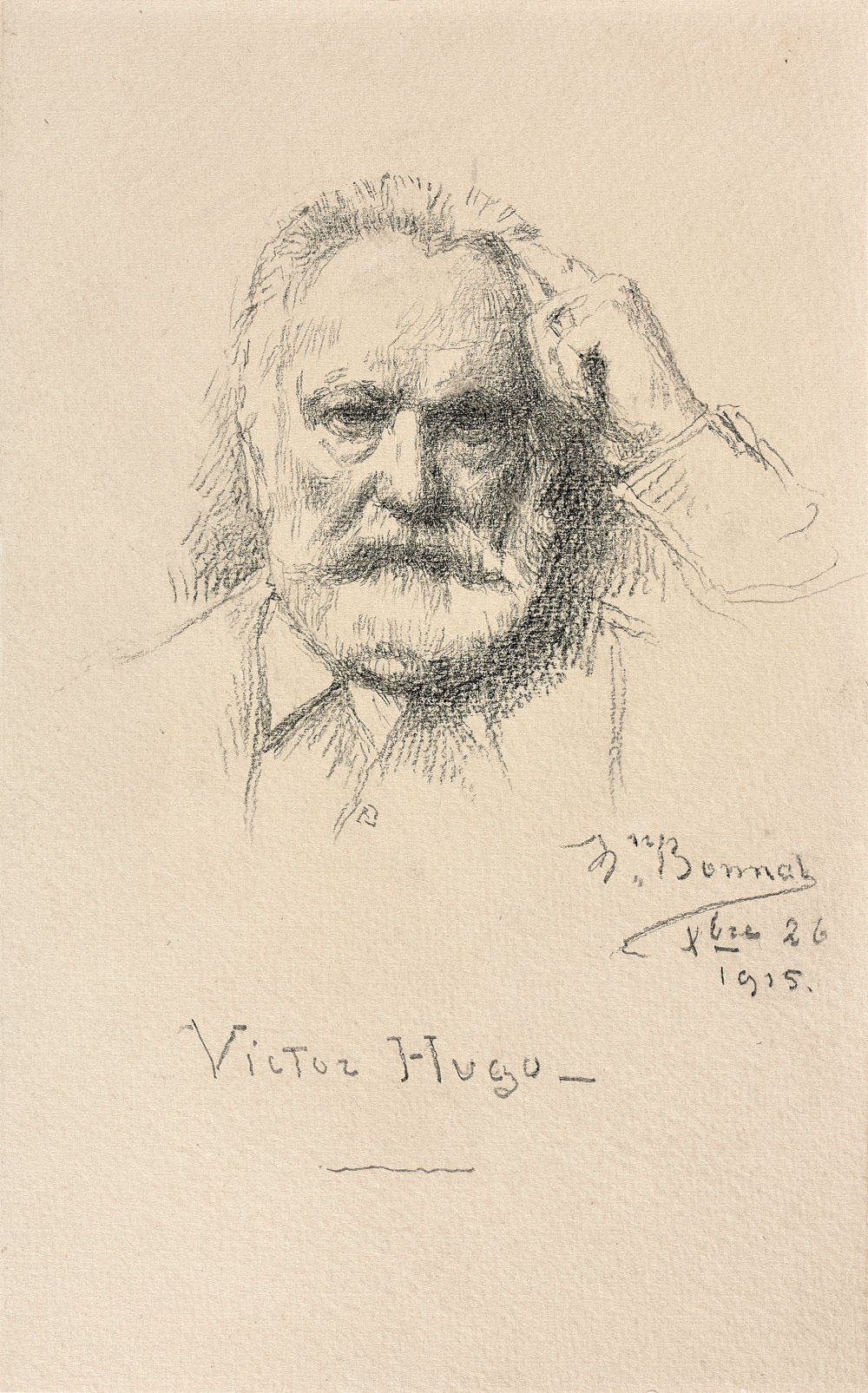 Portrait de Victor Hugo (1802-1885)