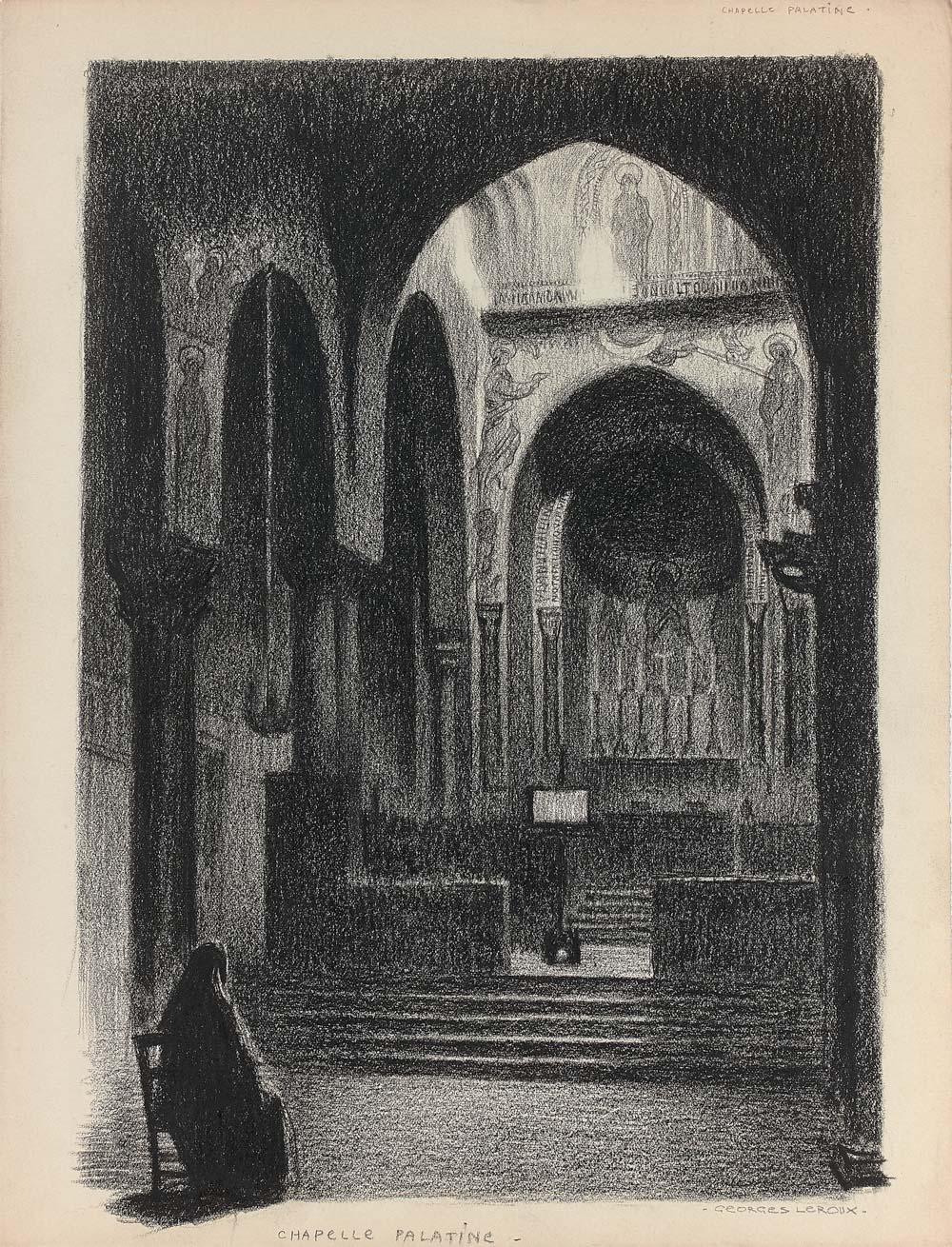La chapelle Palatine à Palerme