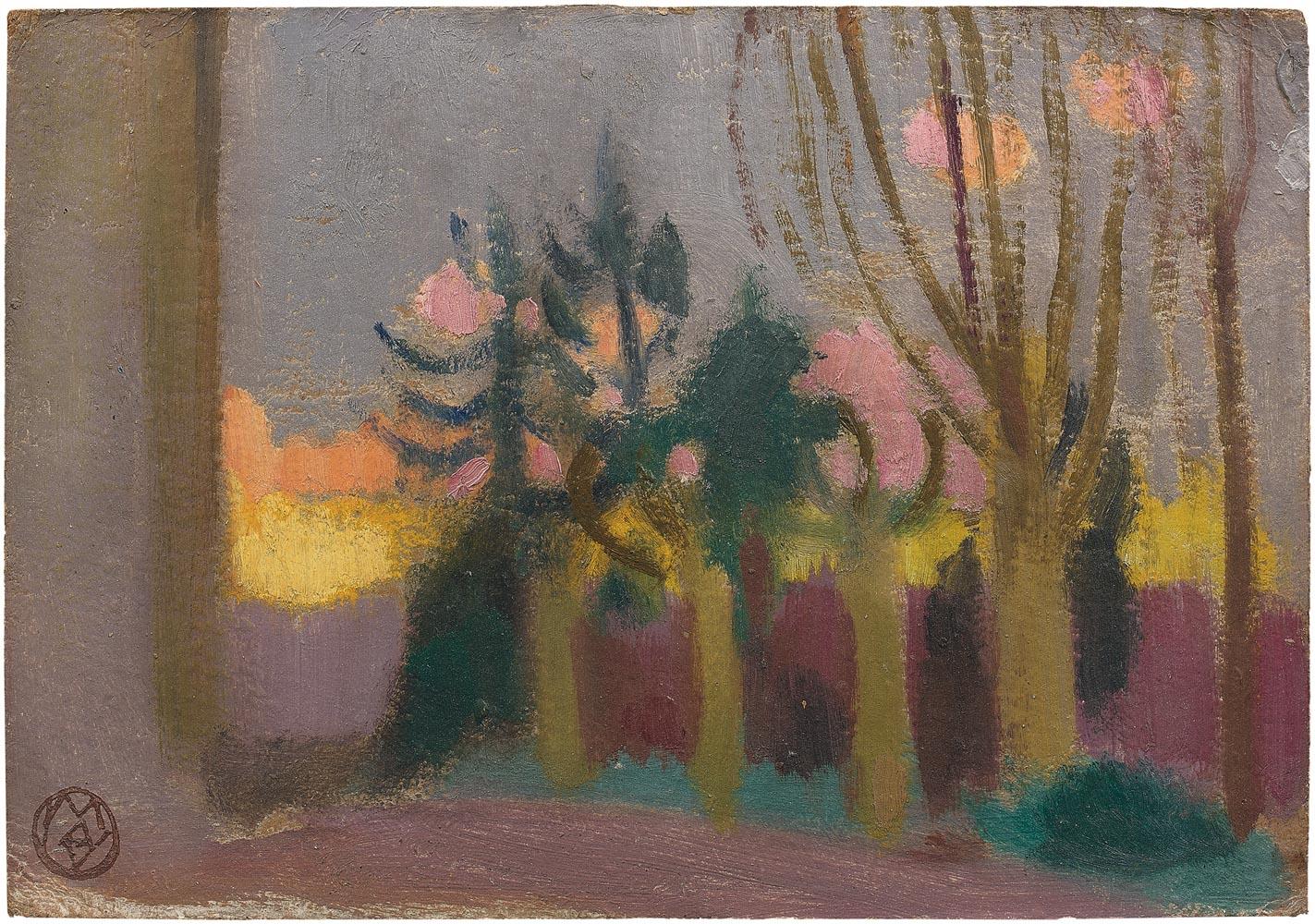 Jardin du Prieuré, étude pour les Pèlerins d'Emmaüs