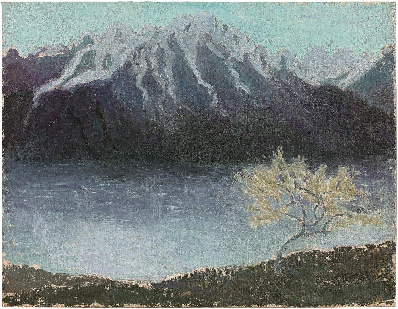 Paysage de bord de lac