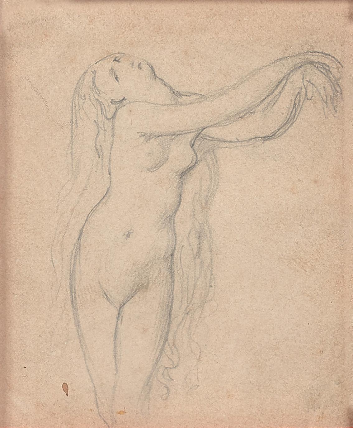 Étude de femme nue, préparatoire à Roger délivrant Angélique