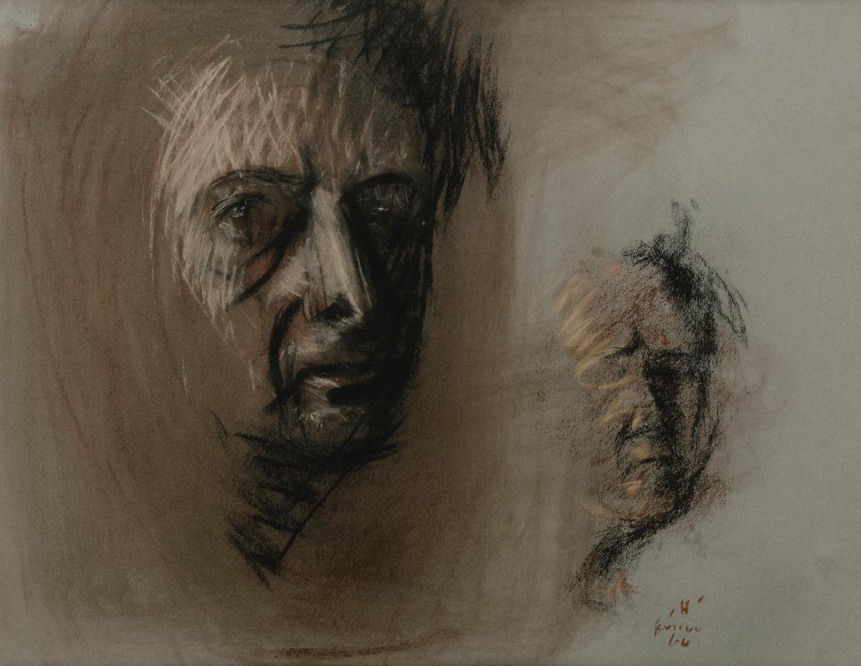 Dans le miroir, Autoportrait