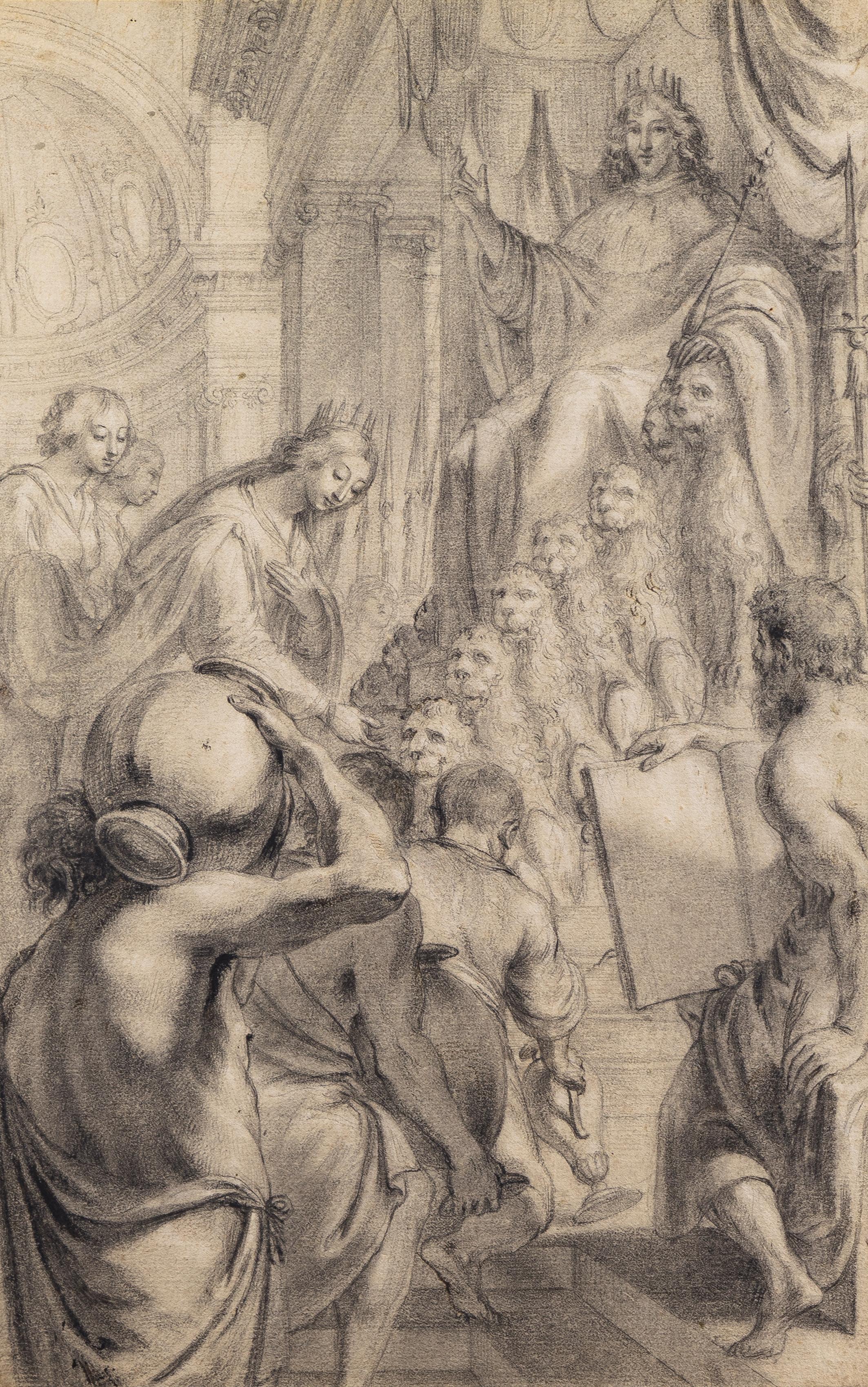 Le roi Salomon et la reine Sheba